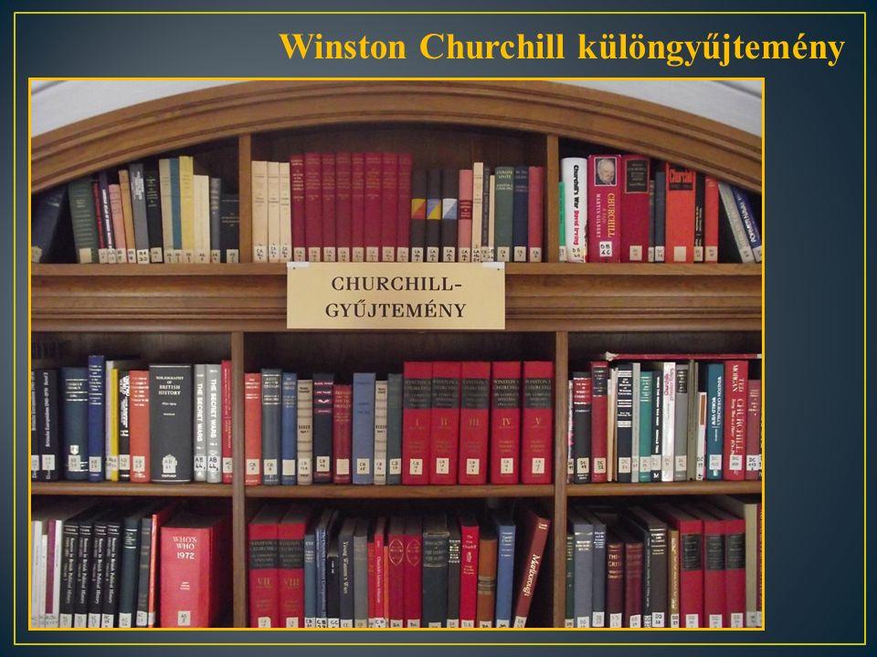 Winston Churchill különgyűjtemény