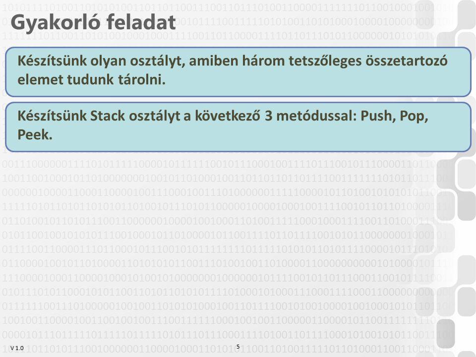 V 1.0 Egyszerű vezérlők Button (nyomógomb) –Content tulajdonság tartalmazza a szöveget (?) –Click esemény Label (szöveg) –Content tulajdonság tartalmazza a szöveget(?) CheckBox (jelölőnégyzet) –Content tulajdonság tartalmazza a szöveget (?) –IsChecked tulajdonság tartalmazza, hogy be van-e jelölve –Checked/Unchecked események RadioButton (rádiógomb) –Content tulajdonság tartalmazza a szöveget (?) –GroupName csoportosítja, de enélkül is biztosít a csoportosításra logikát –IsChecked –Checked/Unchecked események 36