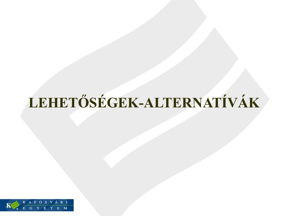 LEHETŐSÉGEK-ALTERNATÍVÁK