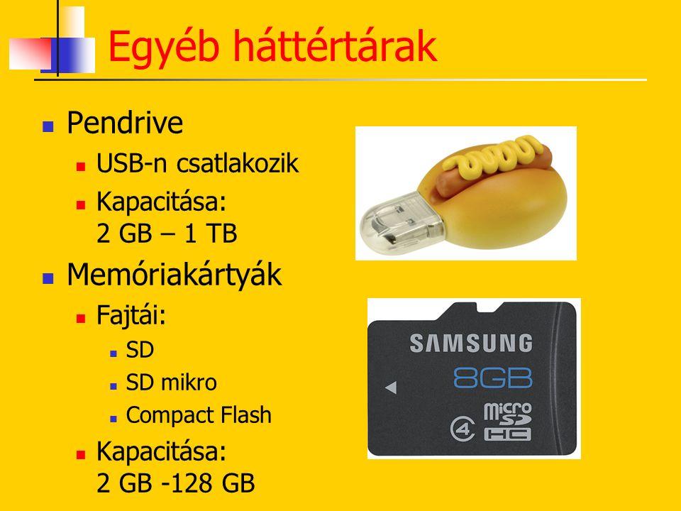 CD DVD BLU-RAY Optikai háttértárak