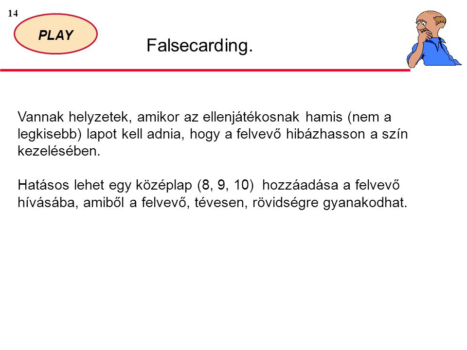14 PLAY Falsecarding.