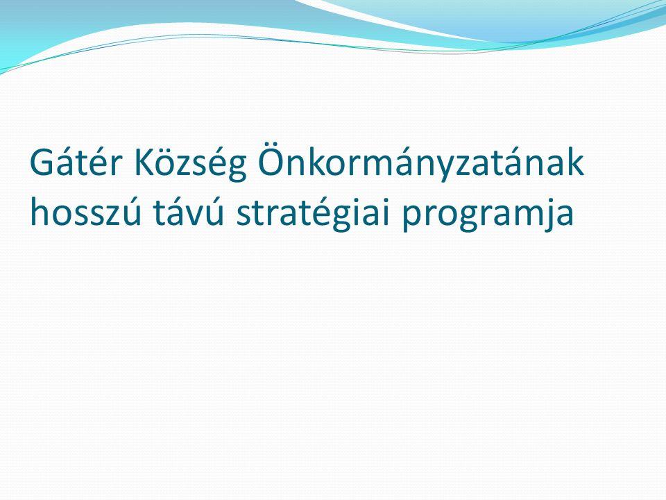Gátér Község Önkormányzatának hosszú távú stratégiai programja