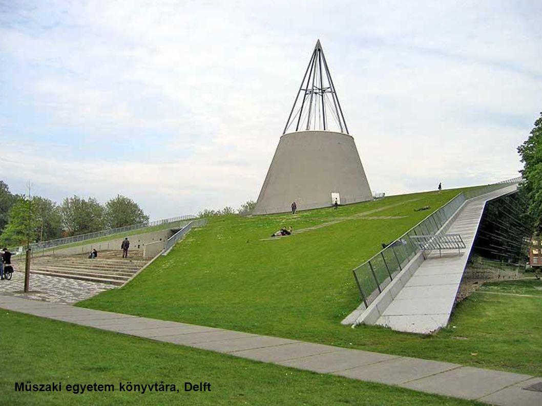 Műszaki egyetem könyvtára, Delft