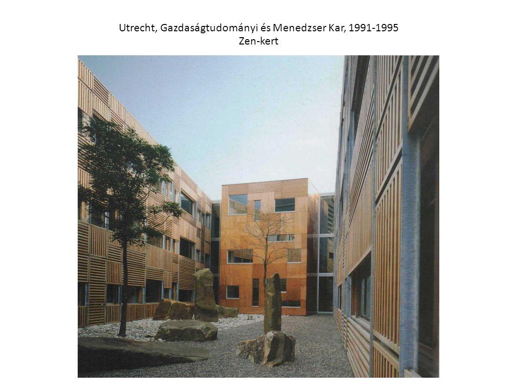 Utrecht, Gazdaságtudományi és Menedzser Kar, 1991-1995 Zen-kert