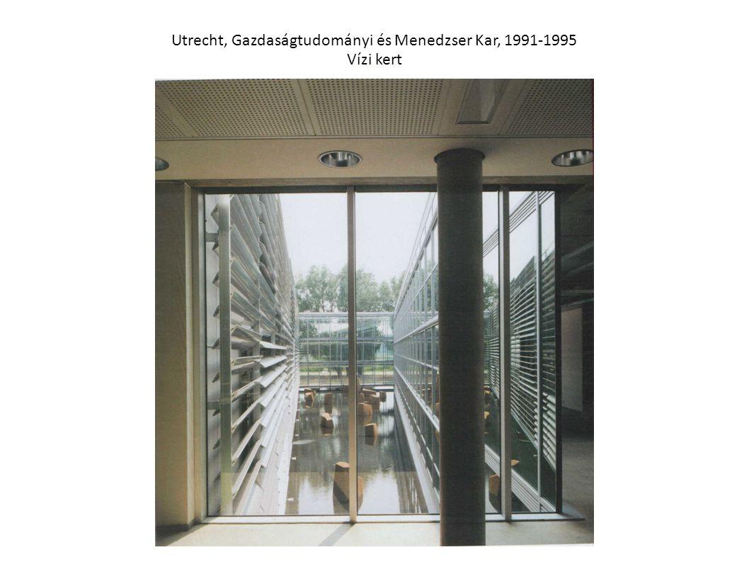 Utrecht, Gazdaságtudományi és Menedzser Kar, 1991-1995 Vízi kert