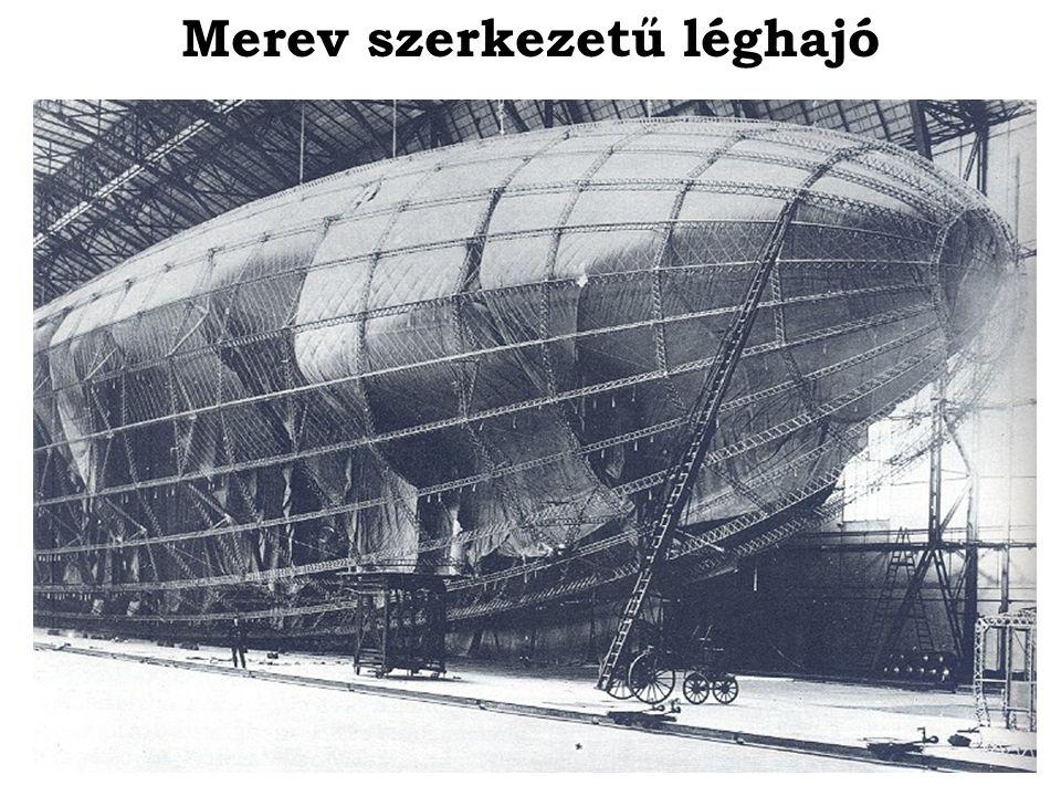 Szuper-zeppelin: L30 (1916) Hossza: 198 m Sebessége: 100,1 km/h Hajtóműve: 6 db Maybach HSLu motor Max.