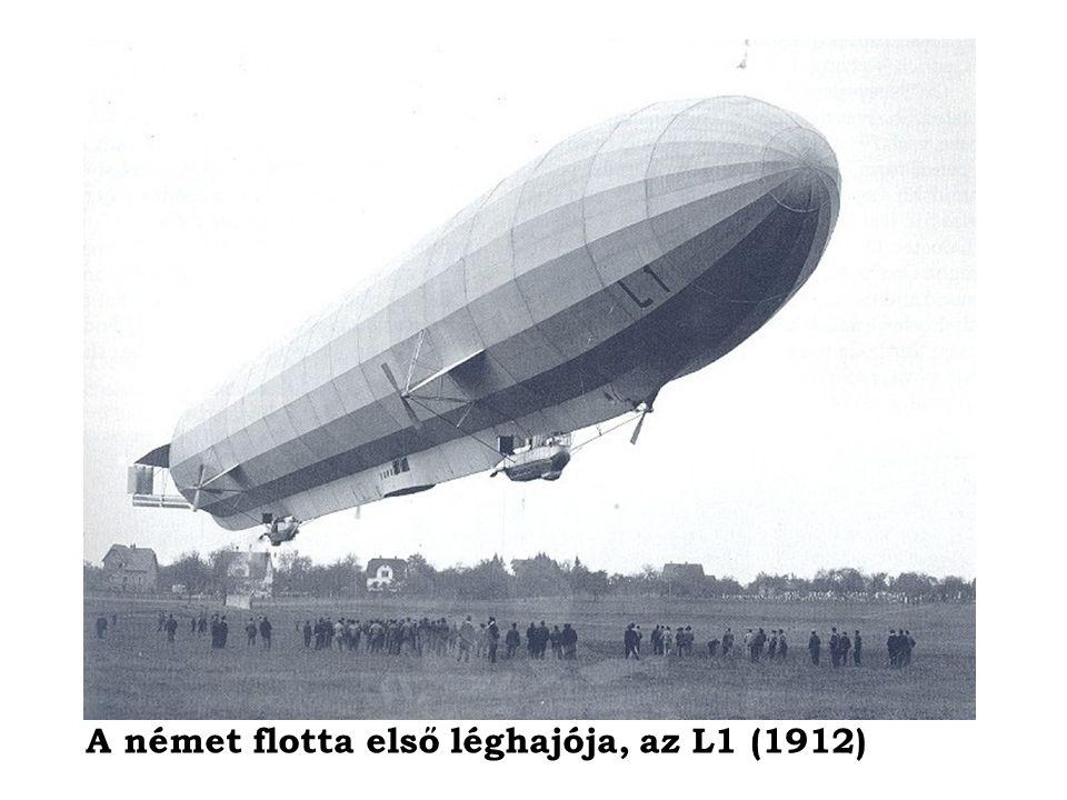 A német flotta első léghajója, az L1 (1912)