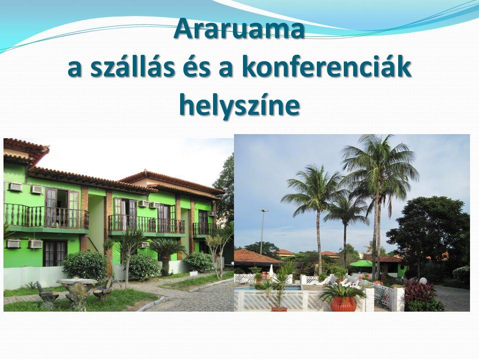Araruama a szállás és a konferenciák helyszíne