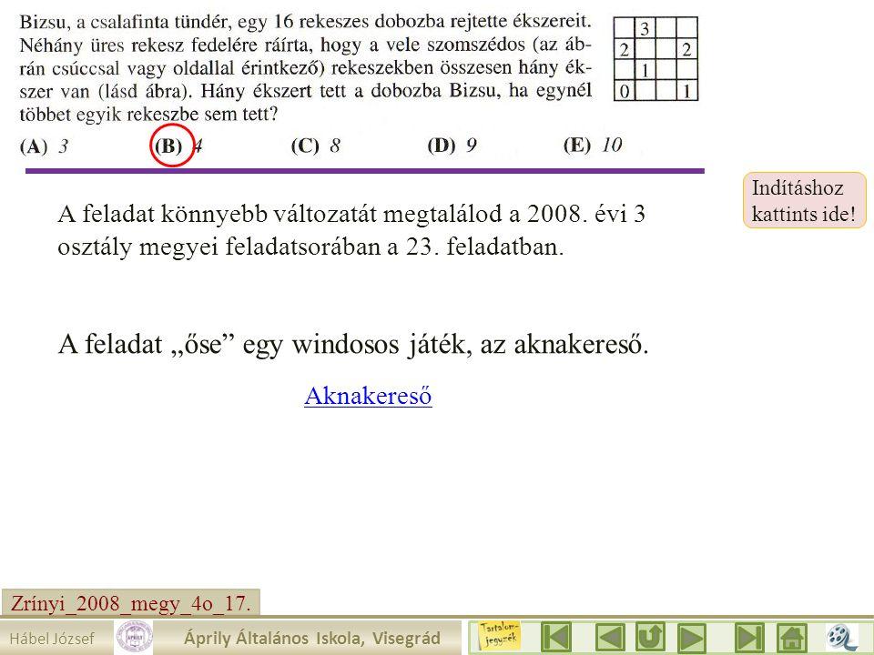 Zrínyi_2008_megy_4o_17.Írjuk be a táblázatba amit tudunk.