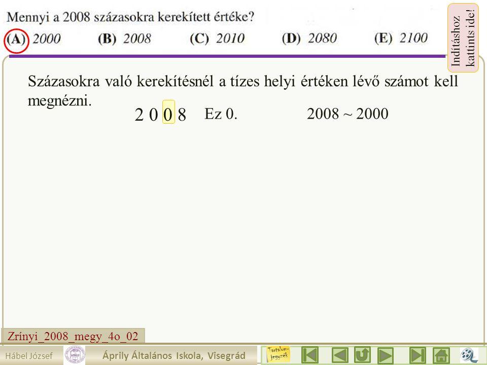 Zrínyi_2008_megy_3o_25.Hábel József Áprily Általános Iskola, Visegrád Indításhoz kattints ide.