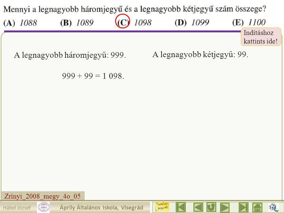 Zrínyi_2008_megy_4o_05 Írjuk be a táblázatba amit tudunk! Mit látunk ? Az egyik szám 10. 2.a. akkor a másik 2 rész. 30 Mennyit érnek az egyes részek?