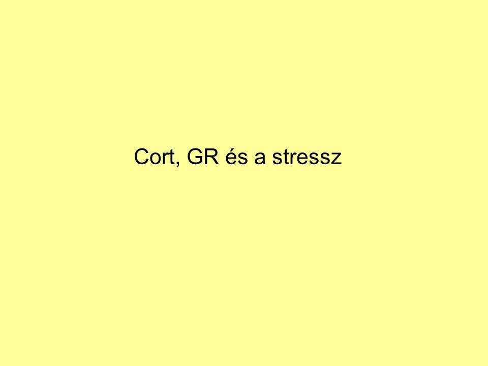 Cort, GR és a stressz