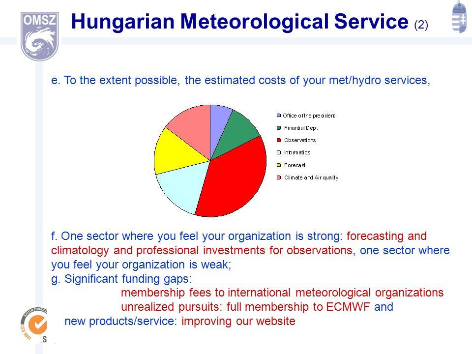 Alapítva: 1870 ORSZÁGOS METEOROLÓGIAI SZOLGÁLAT Hungarian Meteorological Service (2) e.