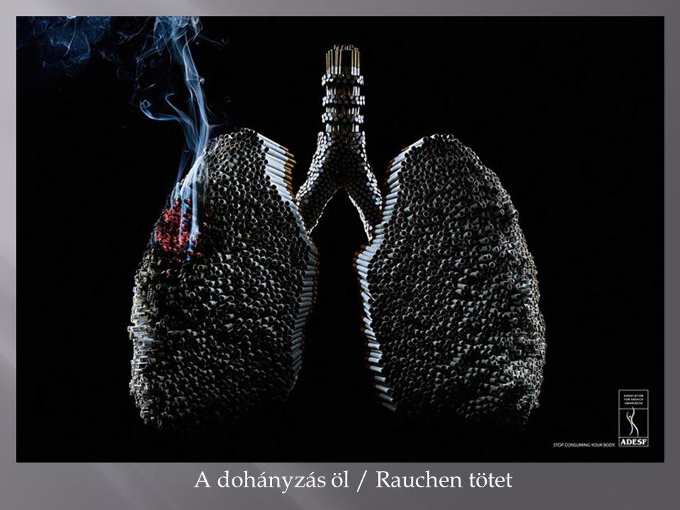 A dohányzás öl / Rauchen tötet
