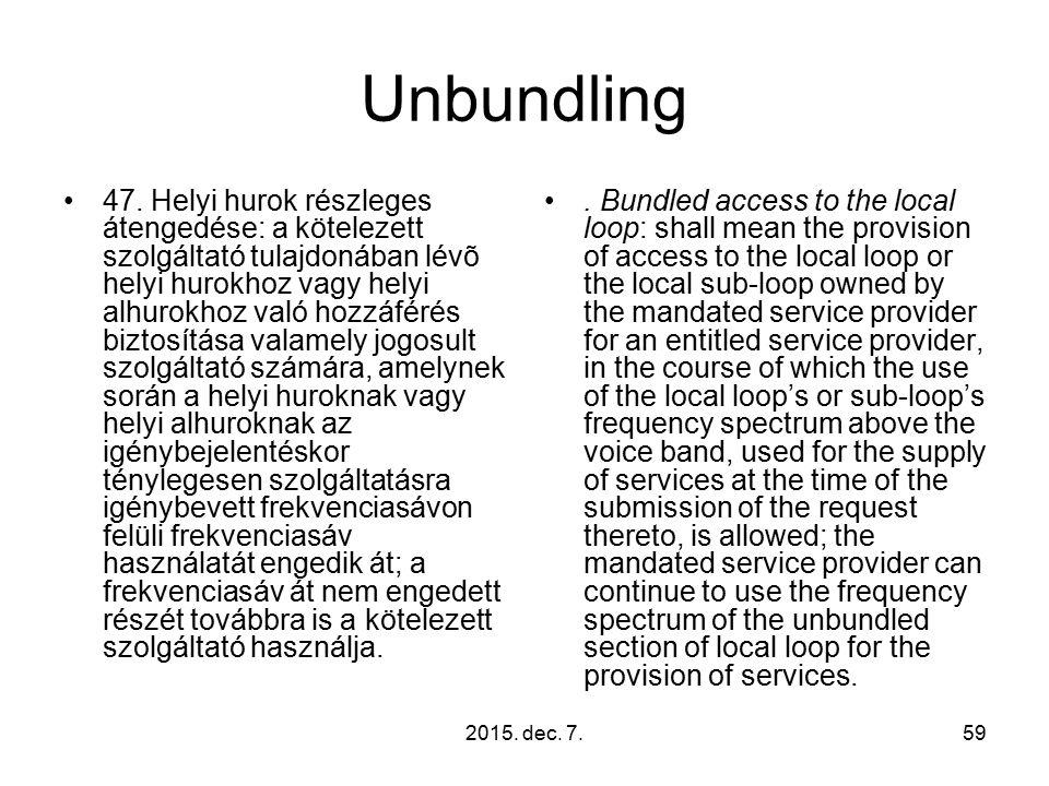 2015. dec. 7.59 Unbundling 47.