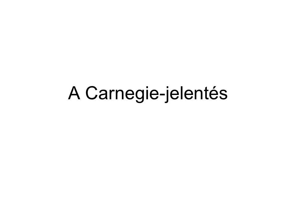 A Carnegie-jelentés