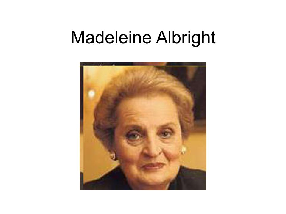 STAHL: Even with the starvation and the lack... ALBRIGHT: I think, Lesley--it is hard for me to say this because I am a humane person, but my first responsibility is to make sure that United States forces do not have to go and refight the Gulf War.