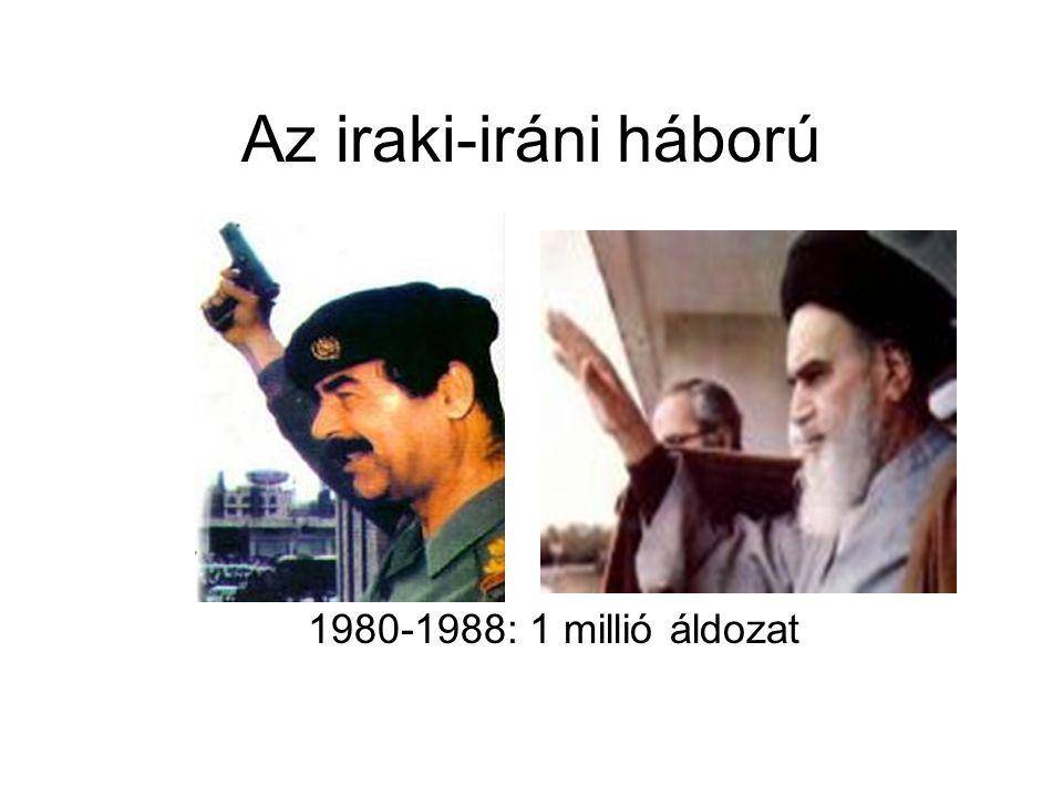 Az iraki-iráni háború 1980-1988: 1 millió áldozat