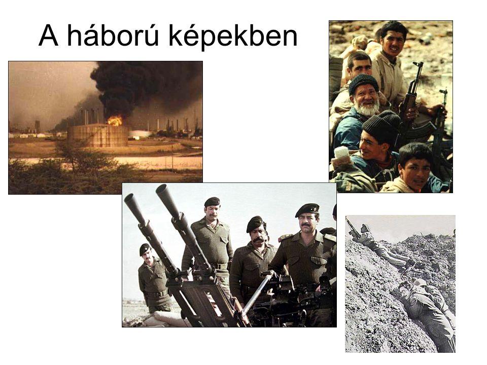 A háború képekben