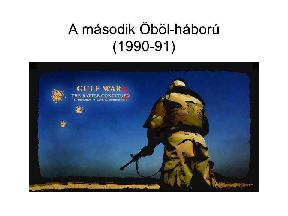 A második Öböl-háború (1990-91)