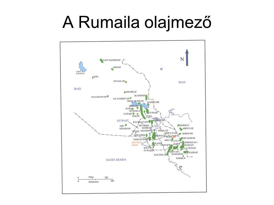 A Rumaila olajmező