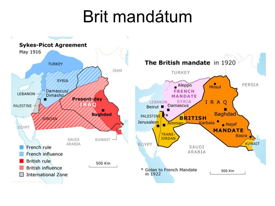 Brit mandátum