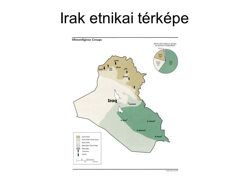 Irak etnikai térképe