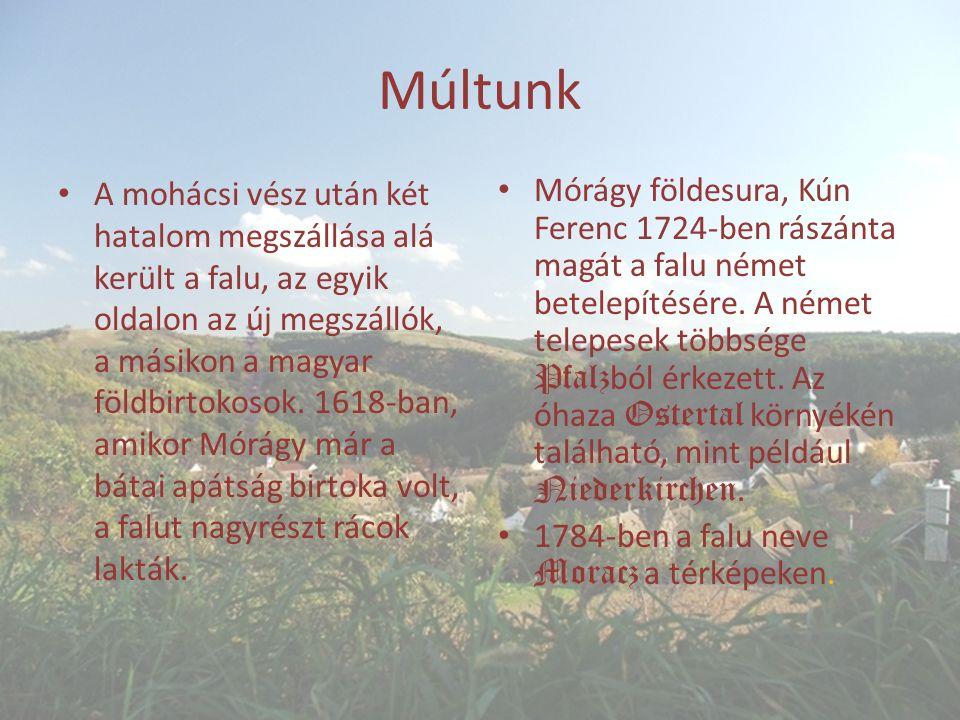 Múltunk A mohácsi vész után két hatalom megszállása alá került a falu, az egyik oldalon az új megszállók, a másikon a magyar földbirtokosok.