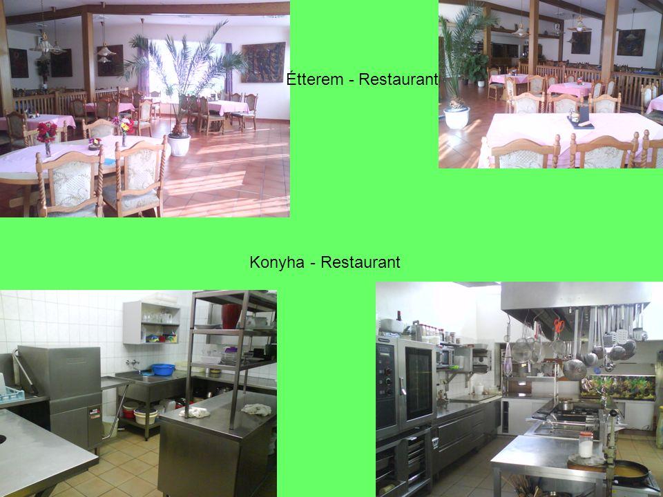 Étterem - Restaurant Konyha - Restaurant