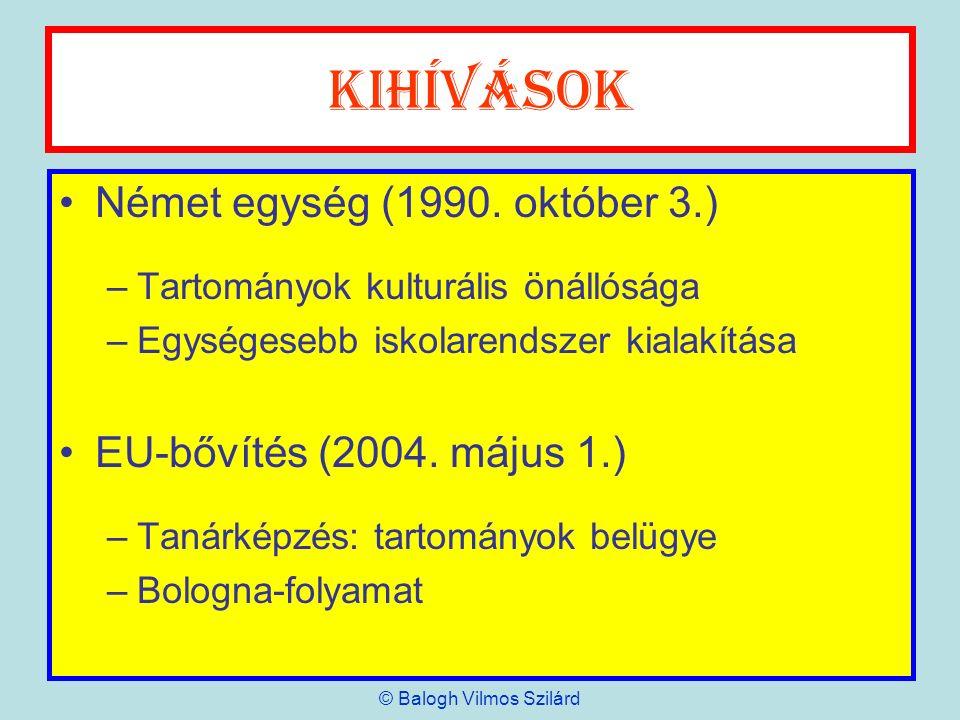 KMK válaszok BS – Bildungsstandards (Mittlerer Schulabschluss) –2003.
