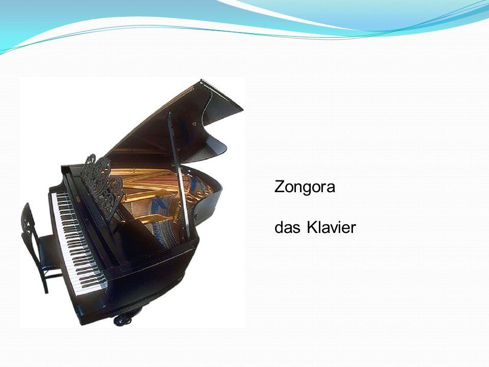 Zongora das Klavier