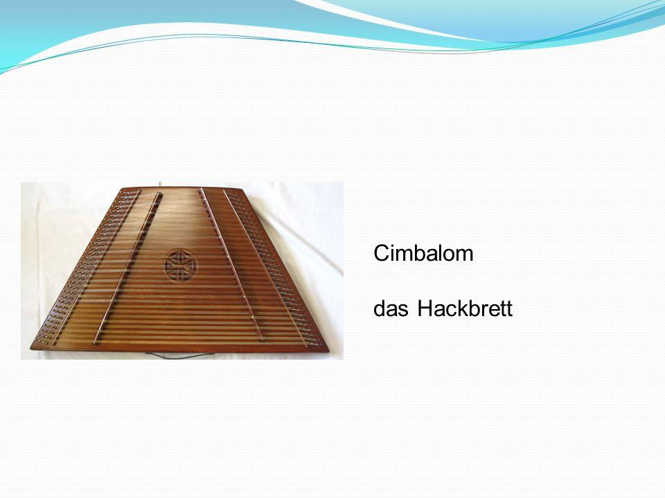 Cimbalom das Hackbrett