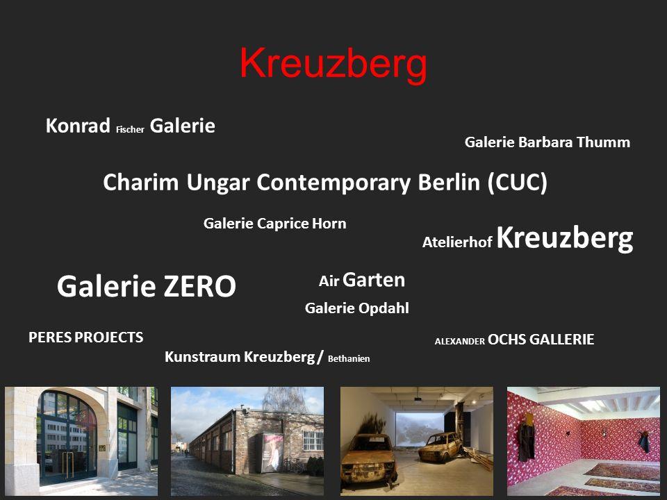 Kreuzberg Air Garten Galerie Caprice Horn Kunstraum Kreuzberg / Bethanien ALEXANDER OCHS GALLERIE Atelierhof Kreuzberg Galerie Opdahl Galerie ZERO Cha