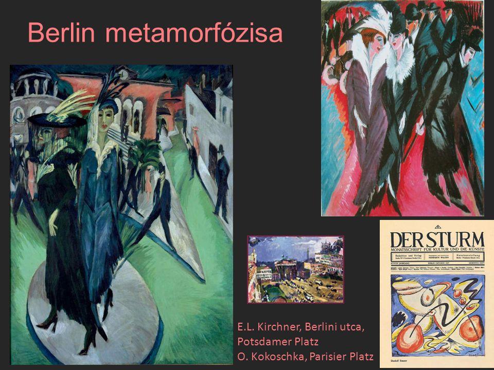 Bernhard Klein, Berlin Georg Grosz, Metropolis Nikolaus Raum, Berlini utca
