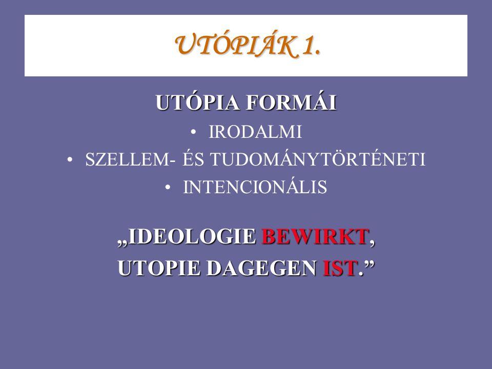 UTÓPIÁK 1.