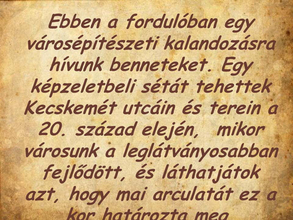 Kecskeméti évszázadok Olvassátok el Székelyné Kőrösi Ilona Kecskeméti évszázadok című könyvét a 40.