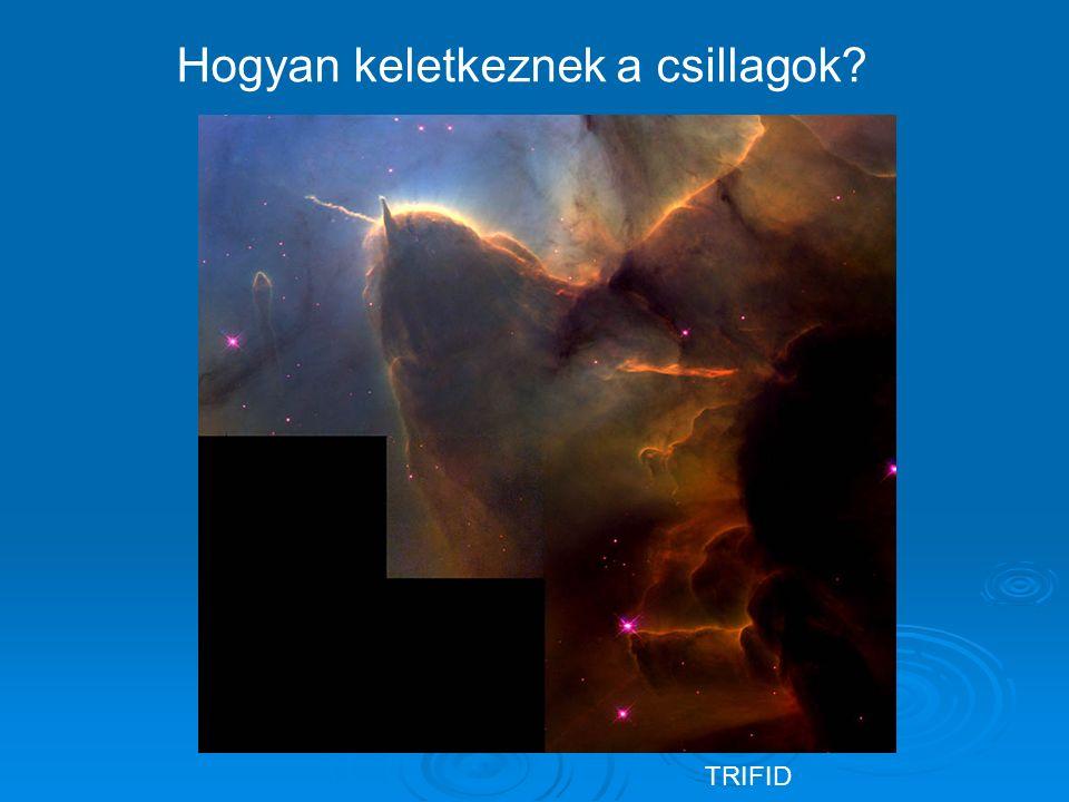 TRIFID Hogyan keletkeznek a csillagok?