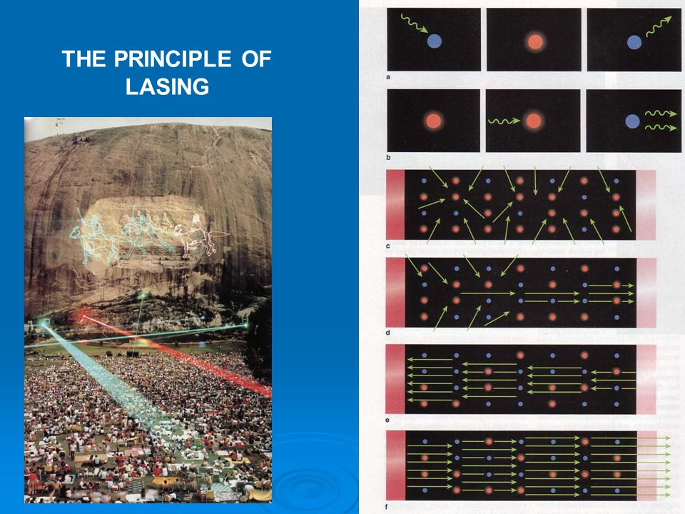 THE PRINCIPLE OF LASING