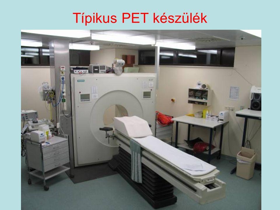 Típikus PET készülék