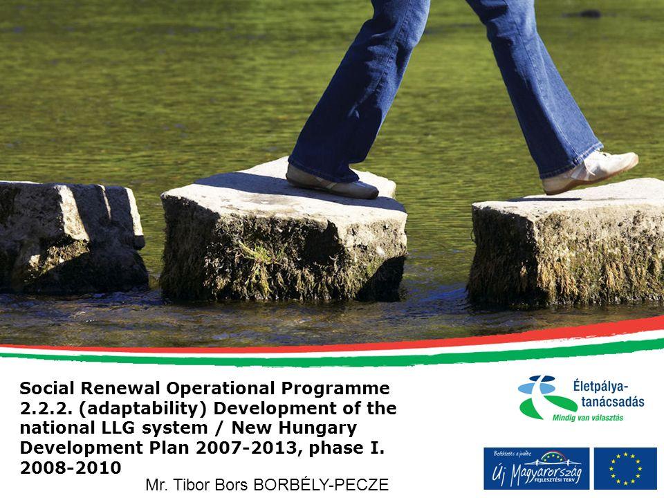 Social Renewal Operational Programme 2.2.2.