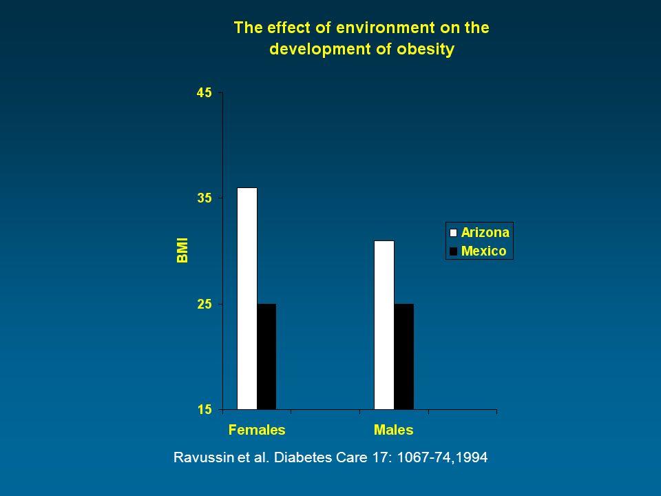 Ravussin et al. Diabetes Care 17: 1067-74,1994