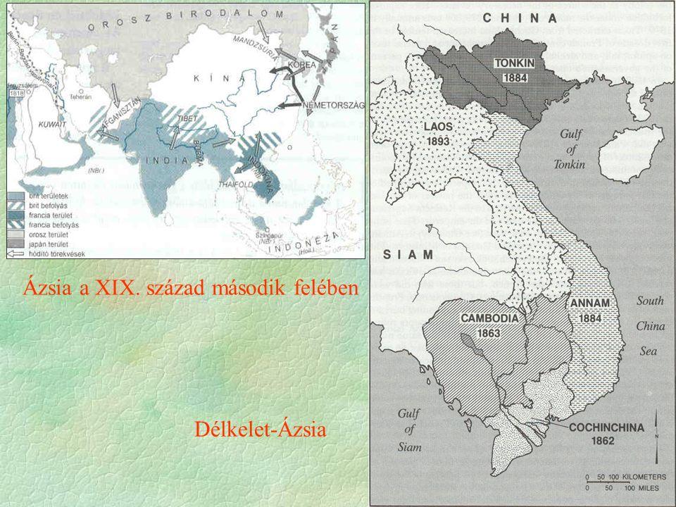 Ázsia a XIX. század második felében Délkelet-Ázsia