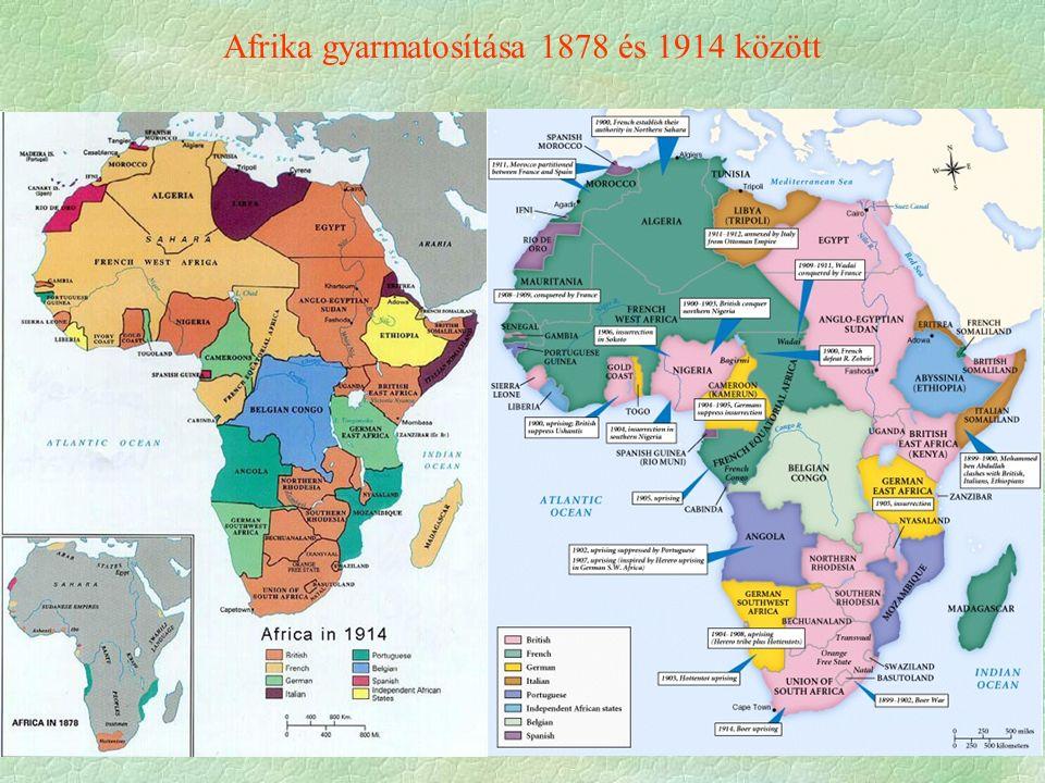 Afrika gyarmatosítása 1878 és 1914 között