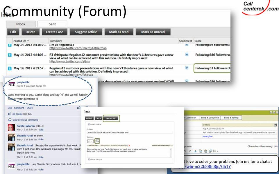 Community (Forum)