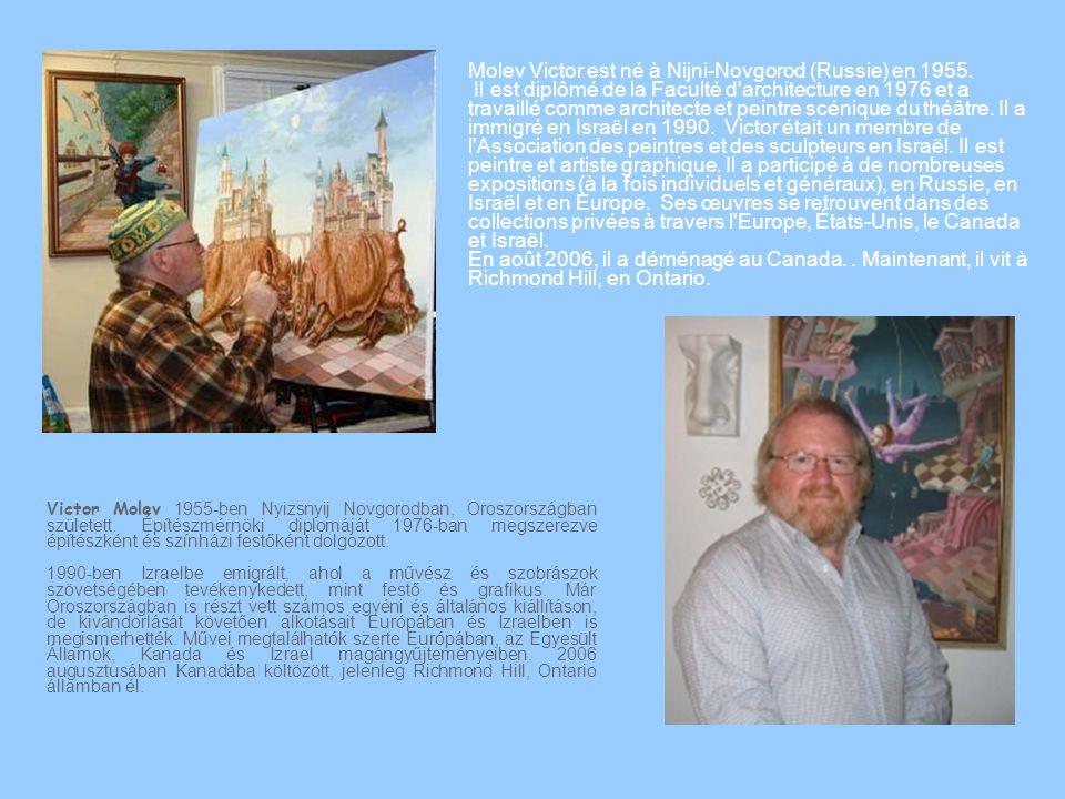 Victor Molev 1955-ben Nyizsnyij Novgorodban, Oroszországban született.