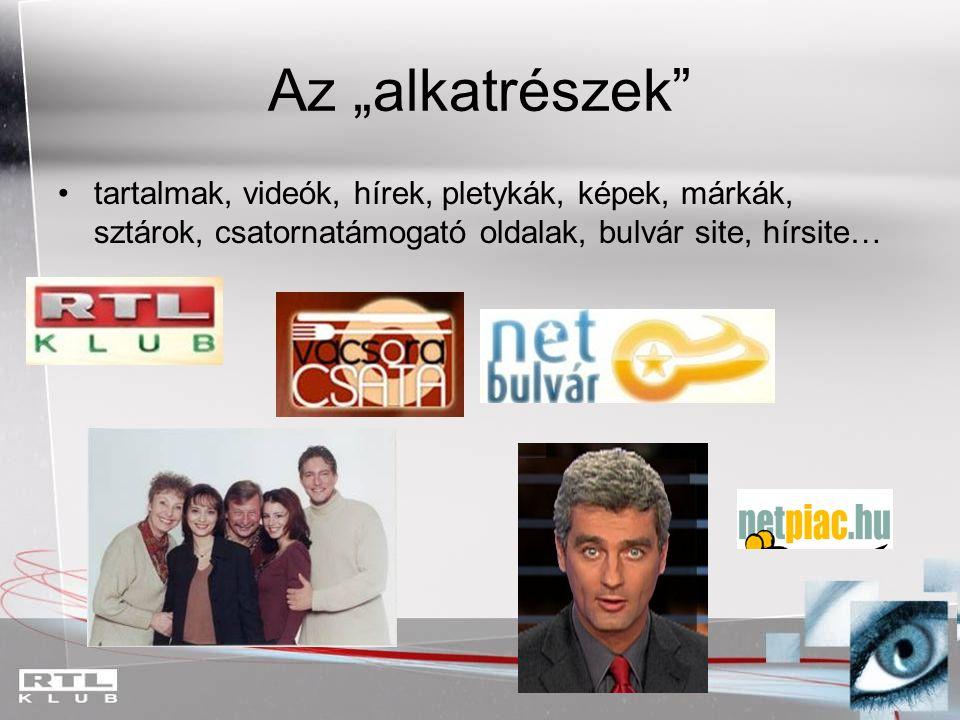 A TV, mint tartalomgyár 2007-ben az RTL Klub összes magyar gyártású műsora: Összesen: 207.862 perc TARTALOM (= 3464 óra, azaz 144 napnyi időtartam) Hírműsorok, magazinok, sportműsorok, vetélkedők, portré, sorozatok stb.