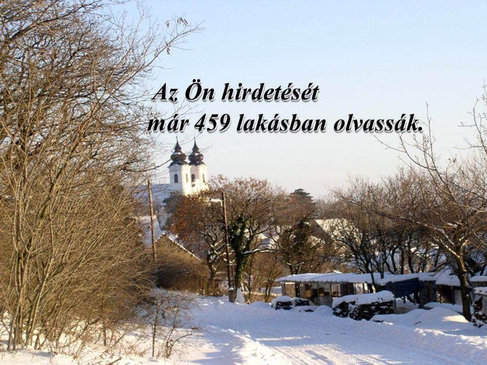 45. oldal Magtár Stúdió - Képújság Az Ön hirdetését már 459 lakásban olvassák.