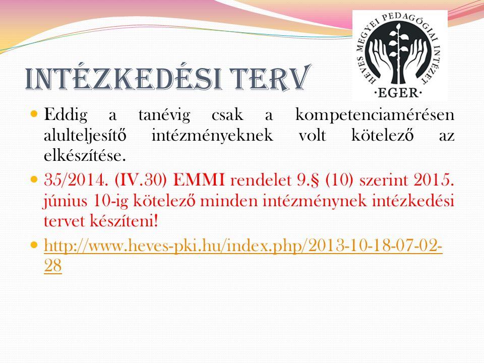 A kompetenciamérés 2015.május 27-én lesz, 6. 8. és 10.