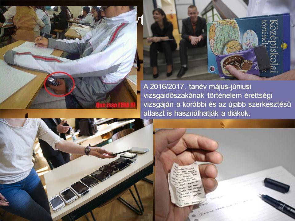 Szabálytalanságok A 2016/2017.