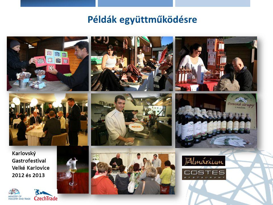 Karlovský Gastrofestival Velké Karlovice 2012 és 2013 Példák együttműködésre